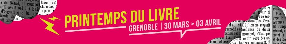 Le Printemps du livre de Grenoble