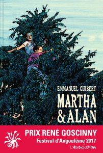 Couverture de Martha et Alan - Emmanuel Guibert (L'Association)